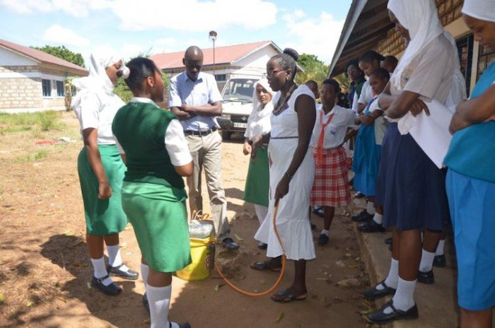 girls using science to change their communities in kenya