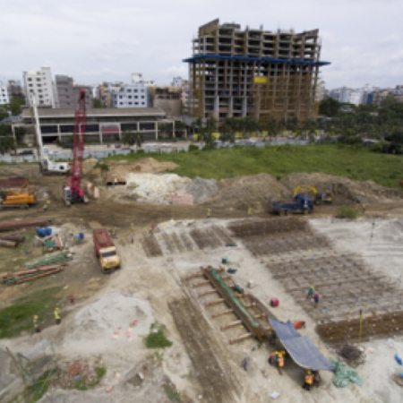 AKA Dhaka construction June 2018