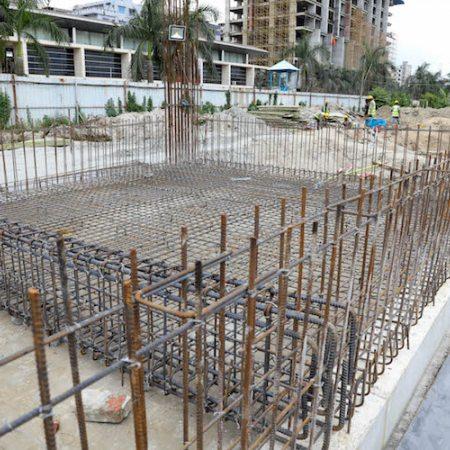 Aga Khan Academy Dhaka construction August 2018