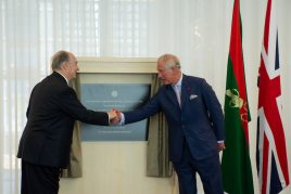 Aga Khan Centre inauguration
