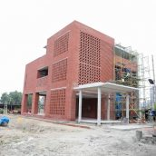 Aga Khan Academy Dhaka construction September 2018