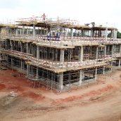 AKA Maputo construction May 2018