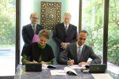 AKA Maputo loan agreement signing