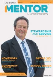 Dr Geoff Fisher featured in Mentor magazine