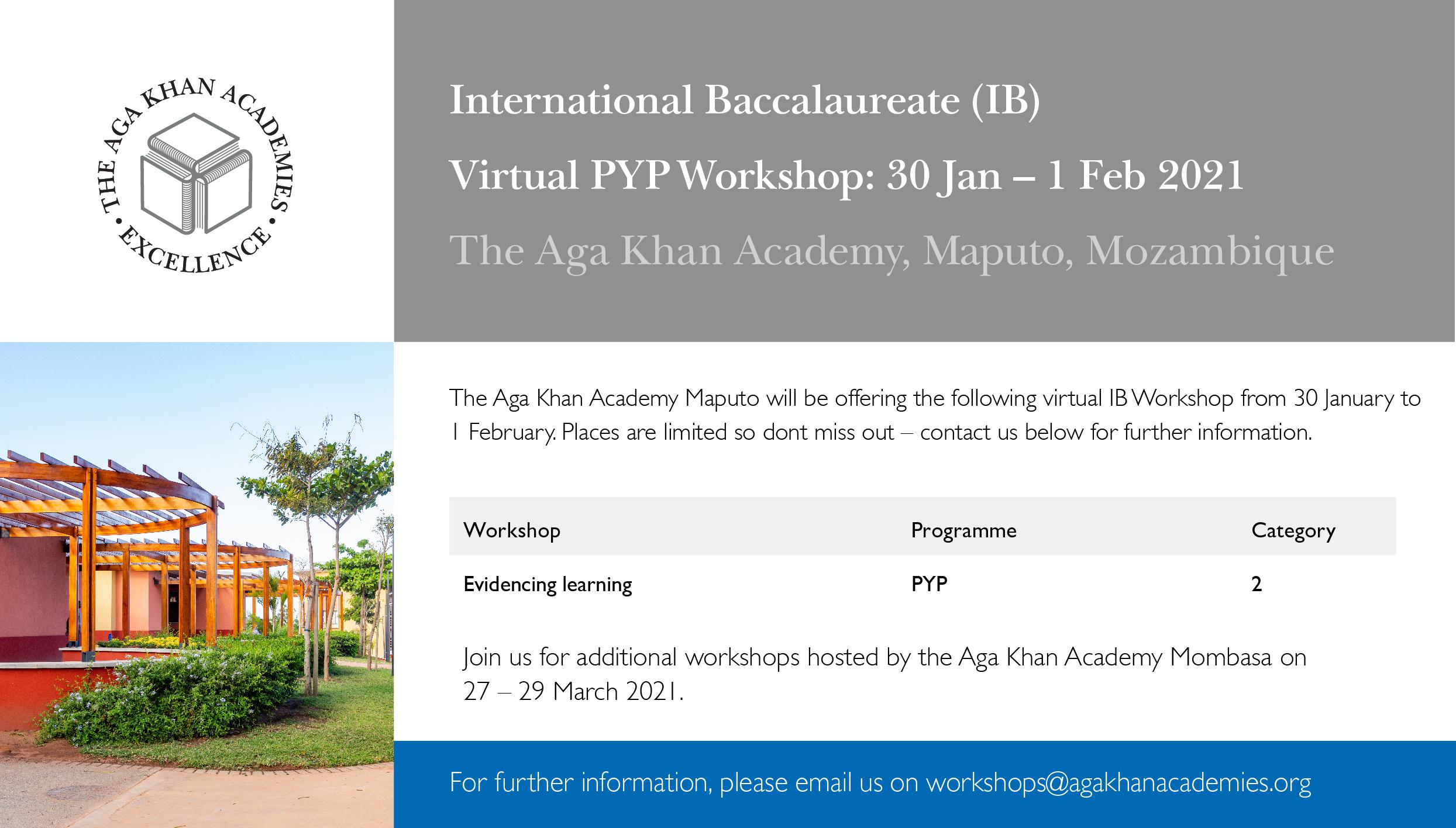AKA Maputo 2021 IB Workshop