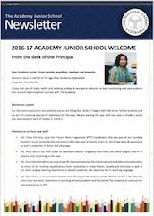 AKA Hyderabad Junior School newsletter August 2016