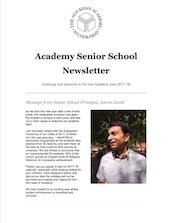 AKA Hyderabad Senior School Newsletter Aug 2017