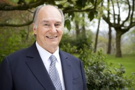 His Highness the Aga Khan