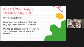World Language Day activities