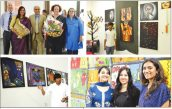 Hindi Milap: Senior School Art Exhibition